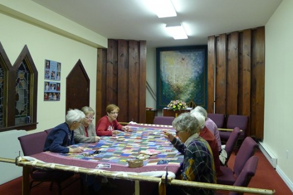 Quilters Church 002, Nov. 26, 12